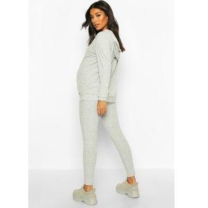 Maternity Hoodie and Legging Set